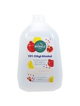 All Things Bubbly Pomegranate and Lemon Ethyl Alcohol (1 Gallon)