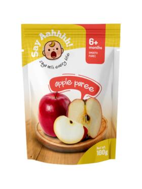 Say Aahhhh Apple Puree (100g)