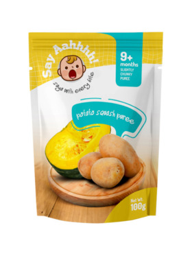 Say Aahhhh Potato Squash Puree (100g)