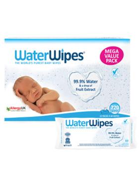 WaterWipes WaterWipes 60 Wipes (12-Pack)