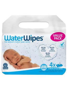 WaterWipes WaterWipes 60 Wipes (4-Pack)