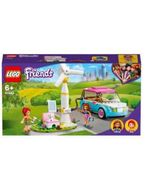 Lego Friends Olivia's Electric Car Building Blocks (183pcs)