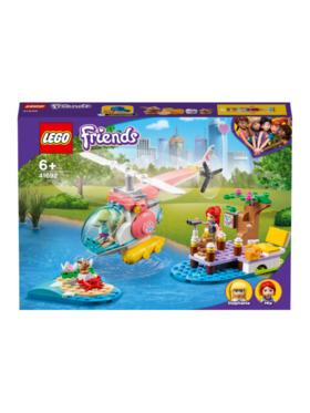 Lego Friends Vet Clinic Rescue Helicopter Building Blocks (249pcs)