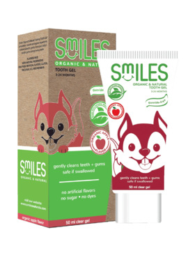 Smiles Apple Organic and Natural Tooth Gel (50ml)