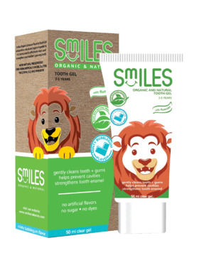 Smiles Bubblegum Organic and Natural Tooth Gel (50ml)