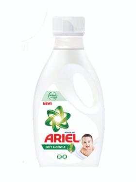 Ariel Liquid Soft & Gentle Detergent (900g)