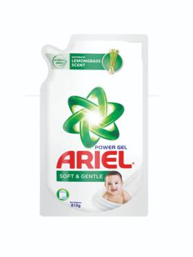 Ariel Liquid Soft & Gentle Detergent Refill (810g)
