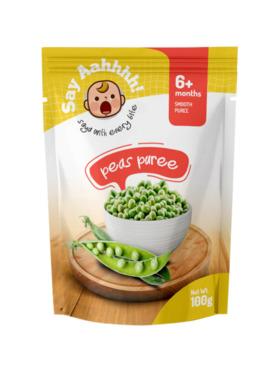 Say Aahhhh Peas Puree (100g)