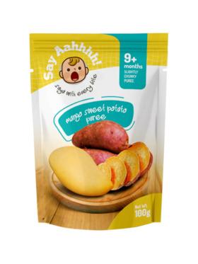 Say Aahhhh Sweet Potato Mango Puree (100g)