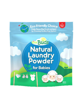 Tiny Buds Natural Laundry Powder for Babies Pouch (500g)
