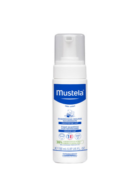 Mustela Foam Shampoo for Newborns (150ml)