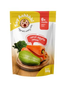 Say Aahhhh Carrot Chayote Puree (100g)