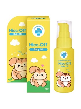 Tiny Buds Premium Natural Oil Hicc-Off Baby Oil (30ml)