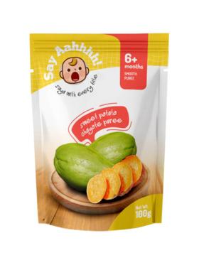 Say Aahhhh Sweet Potato Chayote Puree (100g)
