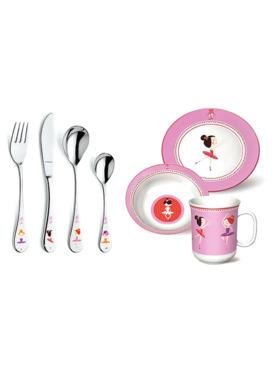Amefa Ballerina 7-piece Children's Cutlery Set