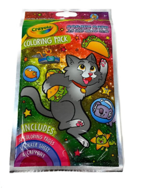 Crayola Coloring Pad - Cosmic Cats