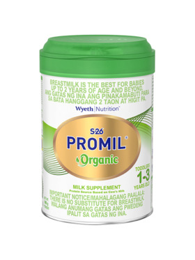 S-26 Promil S-26® PROMIL® ORGANIC 1-3 years old, Milk Supplement (900g)