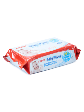 Pigeon Baby Wipes Water Base (82 sheets)