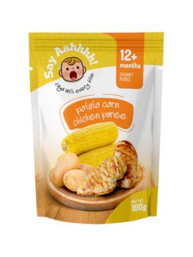 Say Aahhhh Potato Corn Chicken Puree (100g)