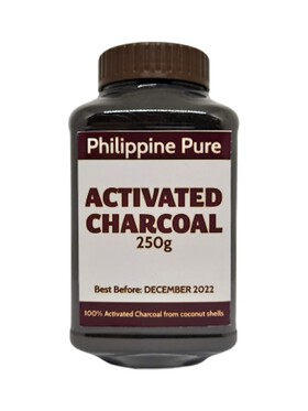 Philippine Pure Activated Charcoal (250g)