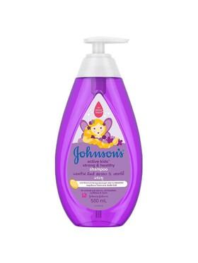 Johnson's Active Kids™ Strong & Healthy Shampoo (500ml)