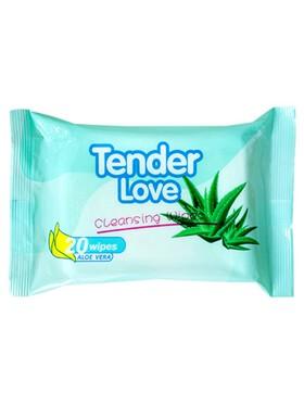 Tender Love Aloe Vera Cleansing Wipes (20s)