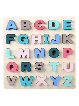 LunaLoveMNL Alphabet Wooden Puzzle - Uppercase