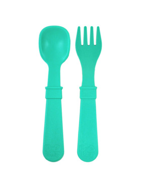 Re-play Recycled Toddler Spoon and Fork