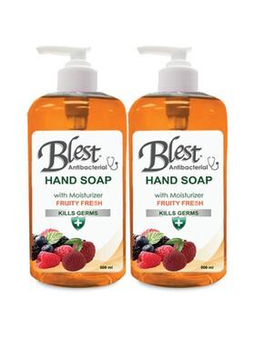 Blest Fruity Fresh Antibacterial Moisturizing Hand Soap 2-Pack