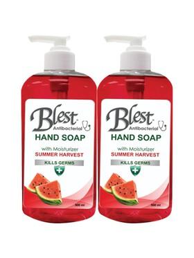 Blest Summer Harvest Antibacterial Moisturizing Hand Soap 2-Pack