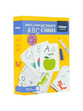 MiDeer Wipe and Write Activity - ABC cards