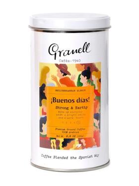 Granell Ground Coffee Premium Tin - Mediterranean Blend Buenos Dias (250g)