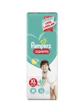 Pampers Baby Dry Pants Super Jumbo Extra Large (46 pcs)