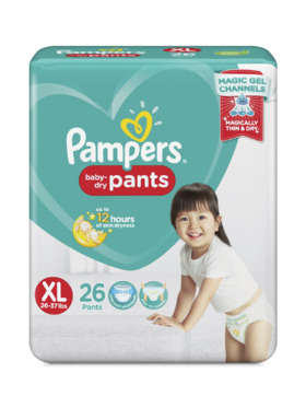 Pampers Baby Dry Pants Value Extra Large (26 pcs)