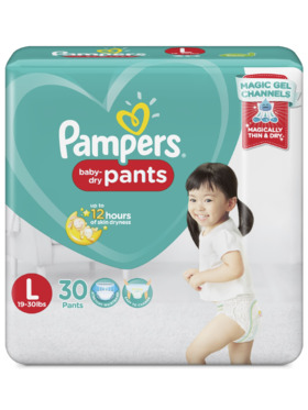 Pampers Baby Dry Pants Value Large (30 pcs)