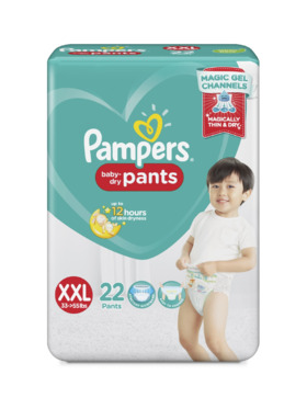 Pampers Baby Dry Pants Value XXL (22 pcs)