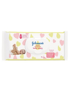 Johnson's Baby Fragrance-Free Wipes (75s)