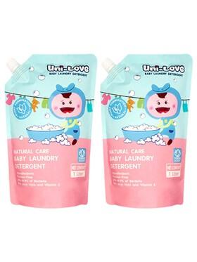 Uni-love Baby Laundry Powder Scent Detergent 2-Pack (1L)