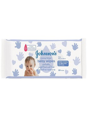 Johnson's Baby Messy Time Wipes (80s)
