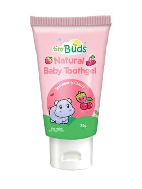 Tiny Buds Cherry Strawberry Baby Toothgel Stage 1 (55g)