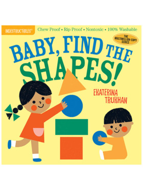 Indestructibles Baby, Find the Shapes!