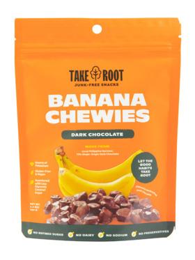Take Root Dark Chocolate Banana Chewies (100g)