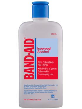 Band-Aid Isopropyl Alcohol (250 ml)