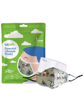 Totsafe Lifestyle Mask - Bears Set (with 3 filters)