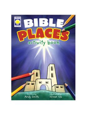 Hiyas Bible Places Activity Book