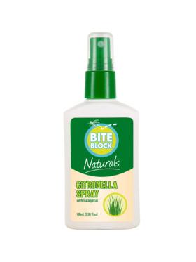 Bite Block Citronella Spray (100ml)