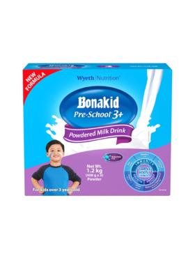 Bonakid Preschool BONAKID PRE-SCHOOL® 3+ Stage 4 Powdered Milk Drink (1.2kg)