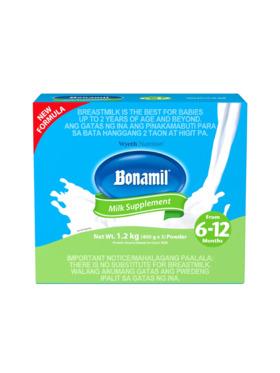 Bonamil BONAMIL® Stage 2 Milk Supplement for 6-12 months (1.2kg)