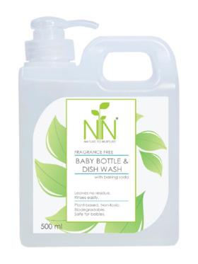 Nature to Nurture All Natural Baby Bottle & Dish Wash (500ml)