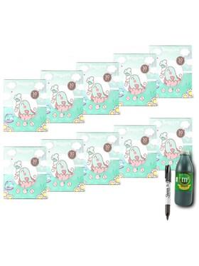 Snuggies Breastmilk Bag (4oz) Buy 10 and Get (1L) M2 Malunggay Drink & Sharpie Pentel